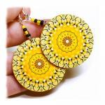 Sunny rosette Earrings Mand..