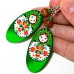 Matryoshka Russian doll Ear..